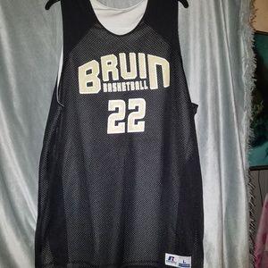 Russell athletics Bruins basketball revers jersey